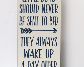 Peter Pan Quote Wood Sign