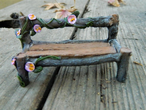 Super Fairy Garden Bench Miniature Furniture Fairy Accessories Miniature Pink Bench Miniature Garden Accessoriesdollhouse Miniature Ibusinesslaw Wood Chair Design Ideas Ibusinesslaworg