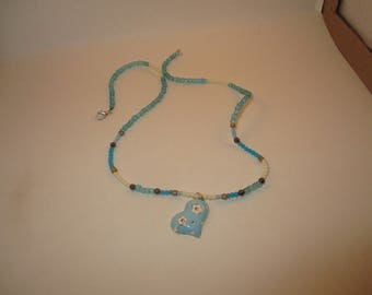 light blue heart with turquoise