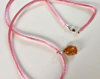 Mexican Cantera Opal Pendant Set in Sterling