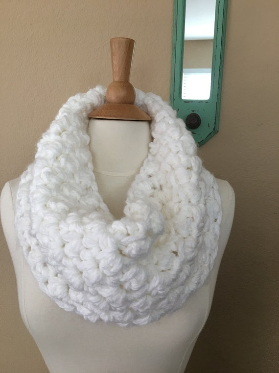 Easy Crochet Pattern Chunky Cowl Pattern Thick Cowl Crochet Etsy