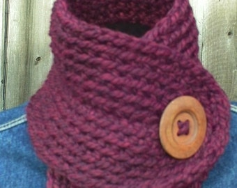Crochet Pattern Collar Cowl Neck Warmer