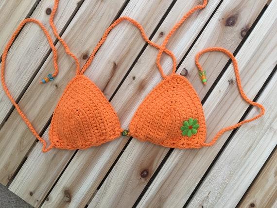 Crochet Bikini Top Pattern Crochet Pattern Bikini Top Etsy Best Crochet Bikini Top Pattern