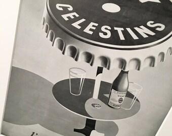 Vintage Poster | Vintage Print | Retro Poster | Advertising Art | Wall Art | Wall Decor | Vintage Magazine Advertising | Gift for him