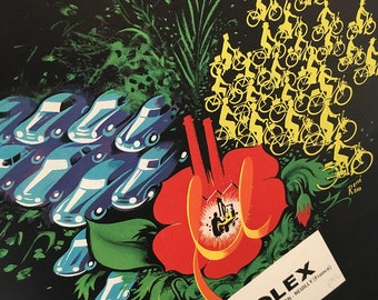 Vintage Motorcycle Poster | Vintage Print | Retro Poster | Retro Art | Wall Art | Wall Decor | Vintage Magazine Advert | Gift for him
