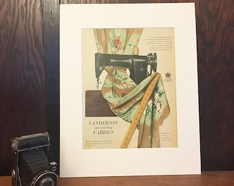 Vintage Fashion Poster | Vintage Print | Retro Poster | Fashion Art | Wall Art | Wall Decor | Vintage Magazine Advertising | Gift for her