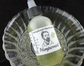 HEMPERMINT Beard Oil, 2 oz All Natural Beard Oil, Peppermint Scented, Beard Conditioner, Hemp Oil, Apricot Oil, Avocado Oil, Essential Oil