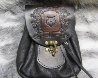 Leather Belt Pouches