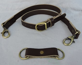 Black or Brown Economy Sporran Belt, Casual or Formal