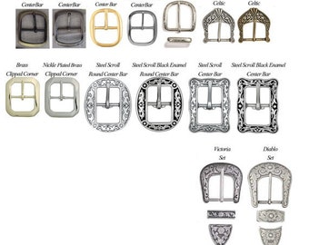 In Stock Buckles for 1 1/2 inch Belts