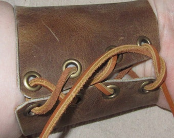 Customizable 3 inch tall, Economy Bracers / Cuffs, Medieval, Renaissance, SCA, Fantasy