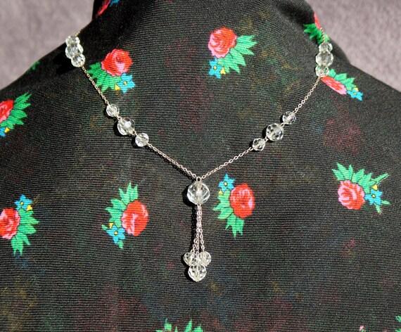 1930's, Art Deco, Czech Glass Necklace