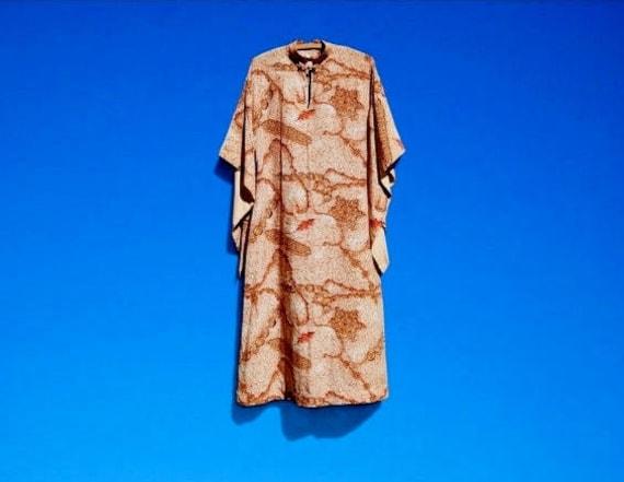 1940's Watumull's Hawaiian Kimono Dress Aloha Dres