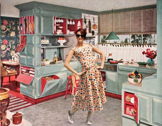 1950's Kitsch Rockabilly Swing Dress Set