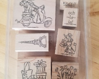 Swirl Stampin/'Up Word Search Script Swirl On the Spot Frames /& Backgrounds Elementary Days Holiday Fun Word by Word Bold Checked