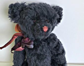 Pansy Mohair Bear