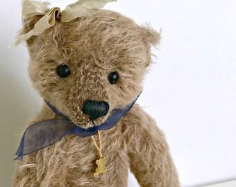 Agatha Jointed Mohair Bear