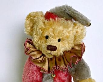 Dagwood Harlequin Mohair Bear