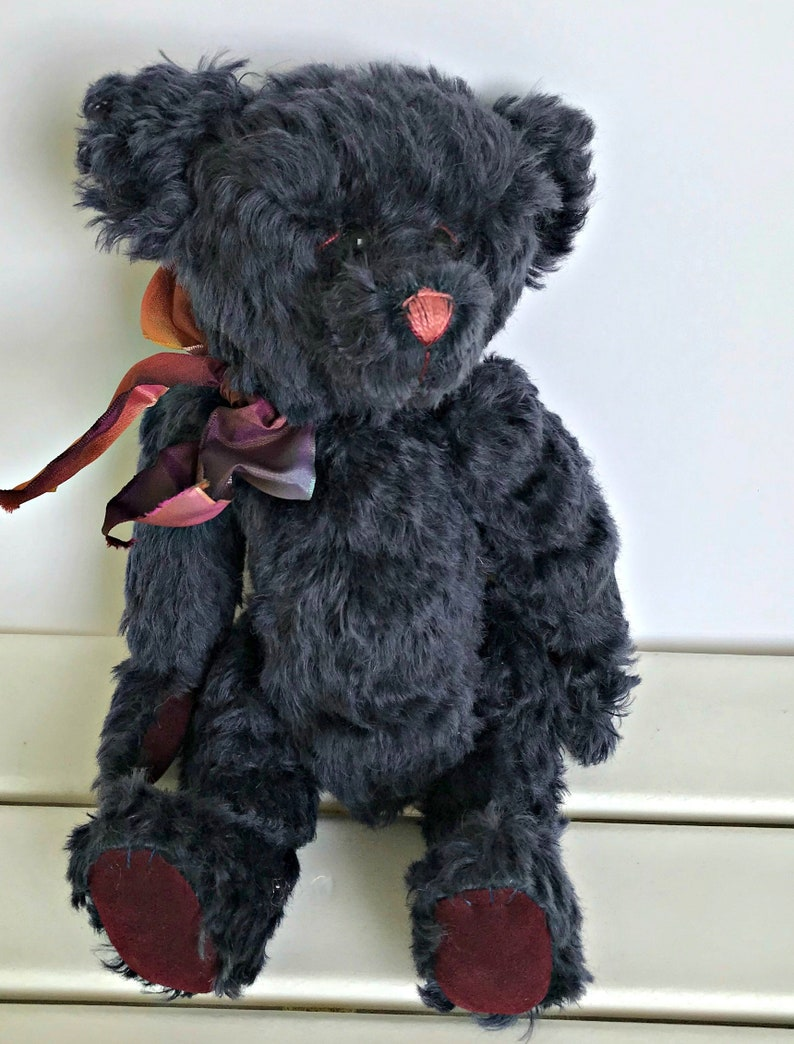 Pansy Mohair Bear image 0