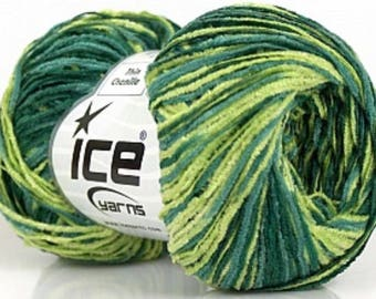Lot of 6 Skeins Ice Yarns AMIGURUMI CHENILLE Hand Knitting Yarn ... | 270x340