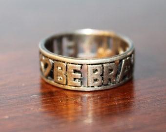 Vintage Life Ring Etsy