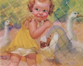 Do Not Feed the Birds Calendar Art Print