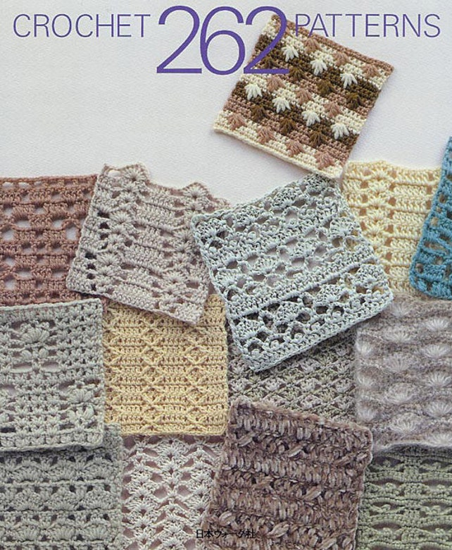 Book of 262 crochet patterns for filet lace table cloth | Etsy