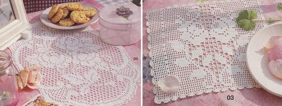 Muster der Burda besondere E659_03 04 Oval Quadrat Filet | Etsy