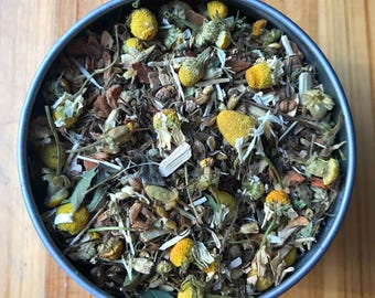 Dysphonia Tea - Organic Herbal Tea - Provides nourishment and support to the nervous system and muscles and reduces spasms