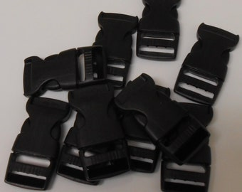 1 inch Side Release Buckles - 10 pack