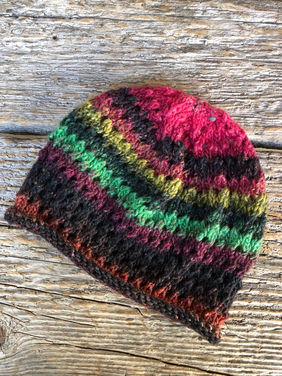 760 Noro Silk Garden Awesome Holey Slouchy Beanie