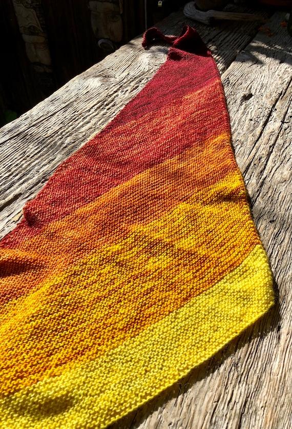 B. Stunning Gradient Colors Shawl Wrap.