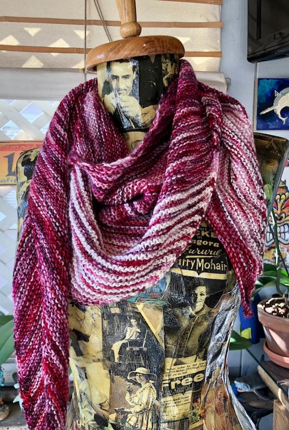 C. Soft & Delicious Silk/Wool Blend Striped Shawl
