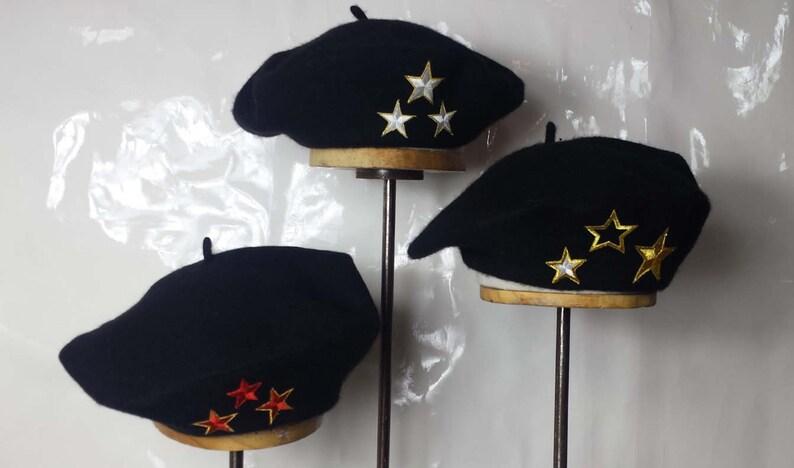 Kleidung & Accessoires Baskenmütze Stern