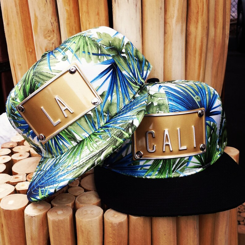 LA CALI tropical palm snapback hat hawiaan snapbacks hats  11b55d0cd146