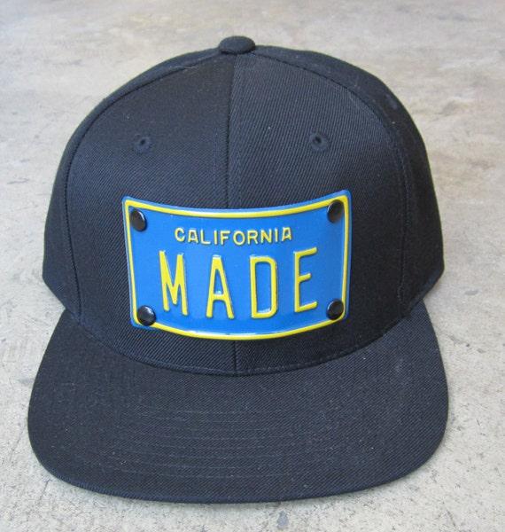 New York made or California Made metal Snapback Hats dreamin  f86d8b4690c7