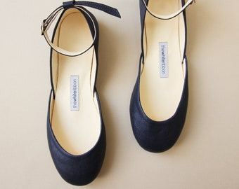 0aca1c08c8b Wedding Shoes ballet flats and leather Oxford by thewhiteribbon