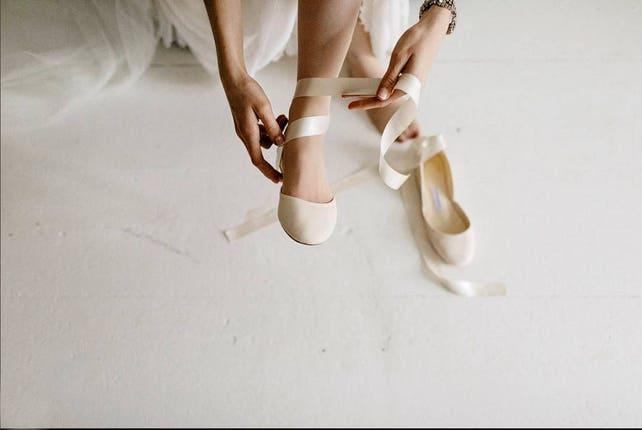 Ballerinas für die Braut Hochzeitsballerinas Spitzenschuhe   Etsy