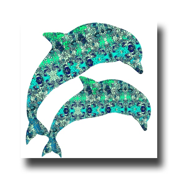 Dolphin Scarf Womens Right Whale Nautical Gifts Teal Ladies Teal Dolphins Wrap