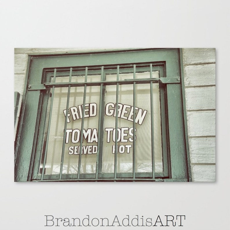 Fried Green Tomatoes Old Sign Photography From the Movies image 0