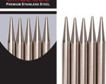 """ChiaoGoo - Premium Stainless - 6"""" Double Points"""
