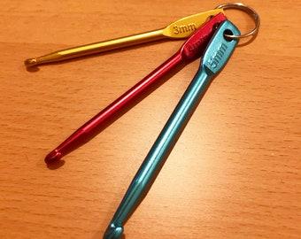 KnitFix Emergency Mini Crochet Hook Size 3mm/4mm/5mm