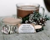 Chocolate Spoons - 8 Pack - Gender Reveal Ideas - Cocoa Mix - Hot Chocolate Favor - Gender Reveal Party - Pikes Peak Lemonade - Colorado