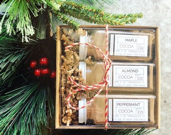 Hot Chocolate Gift Set - Cocoa Bar - Teacher Gifts - Gift Basket - Stocking Stuffer - Gift's Under 20 - Cocoa - Made in Colorado