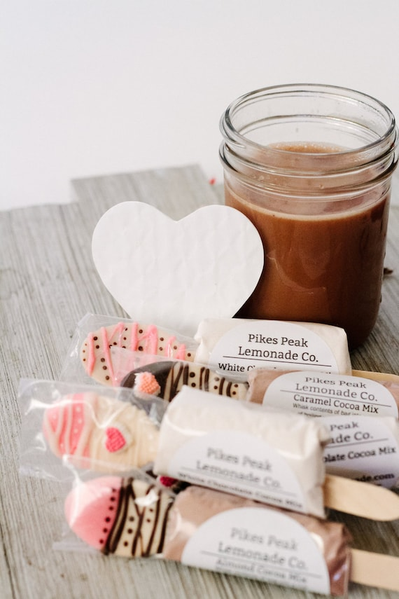 Hot Chocolate Spoons 3 Cocoa Bar Winter Wedding Favors Etsy