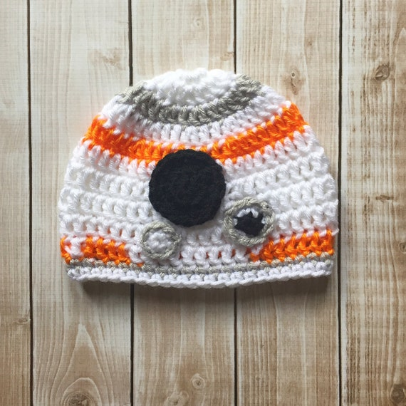 69d575c4520 BB8 Inspired Hat  BB8 Costume  BB8 Inspired Beanie  Star Wars