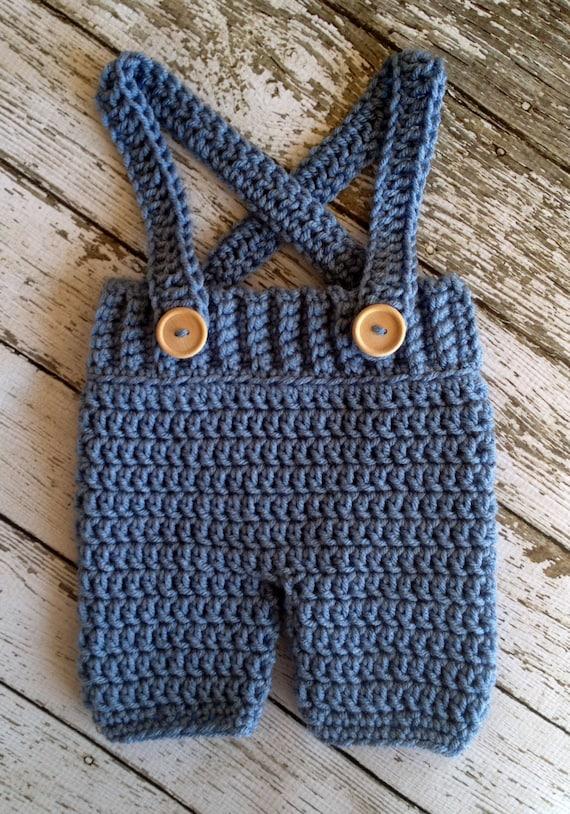 Häkeln Baby Shortshose Mit Hosenträgern überhose In Etsy