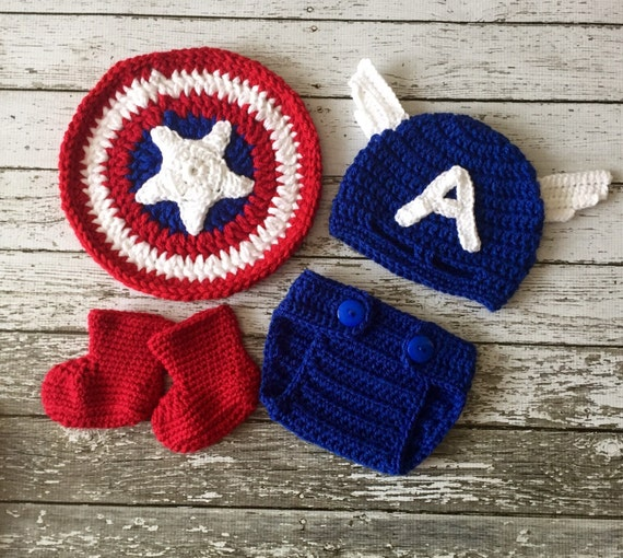 a70ce93e6f1 Captain America Inspired Costume Captain America Hat Captain