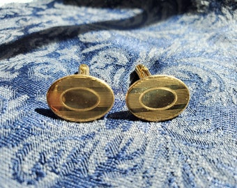 Edwardian GOLD FILLED CUFFLINKS 1900-10