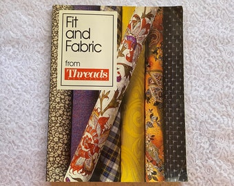 Fit and Fabric from Threads Magazine The Tauton Press Vintage Sewing Craft Book 1991 Vintage Sewing Skirts Pants Skirts Waistbands Collars